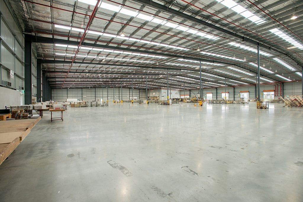 Inside Australia Post Derrimut warehouse