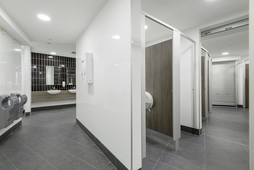 Disabled toilet area