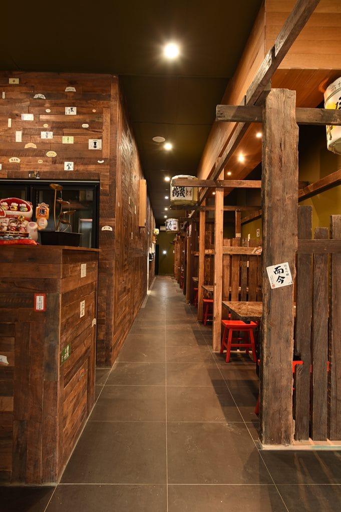 Kaiseki Japanese Restaurant hallway