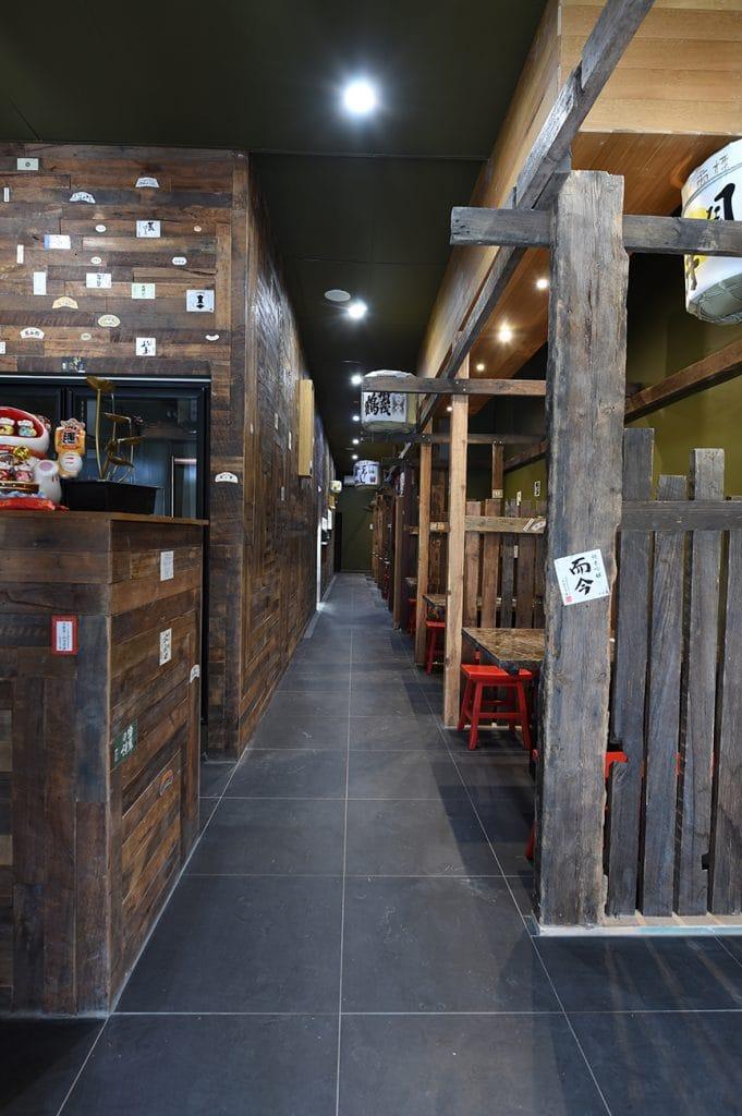 Restaurant entrance during daytime