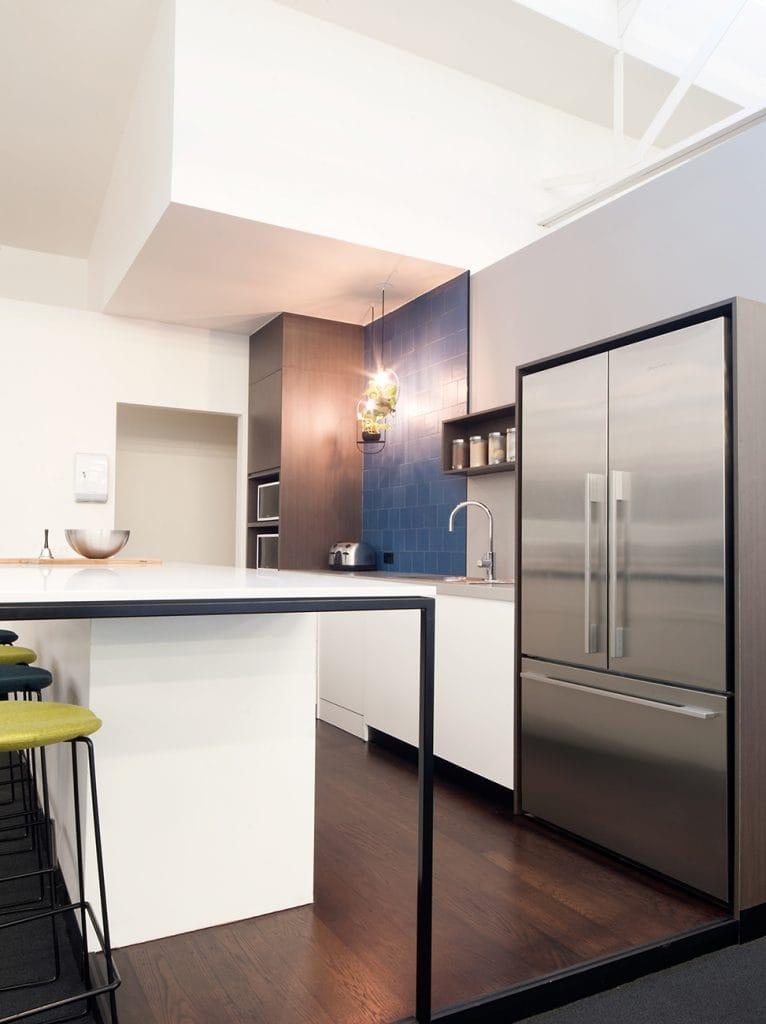 Watson Young Architects kitchen fridge