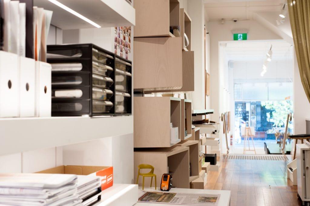 Watson Young Architects storage area
